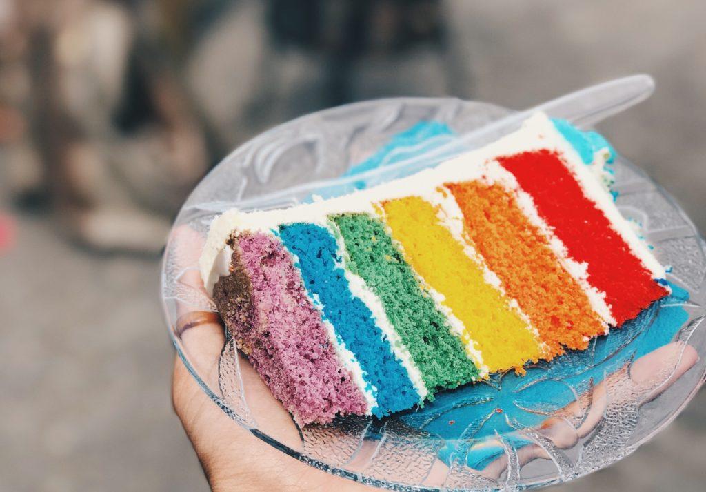 rainbow cake amsterdam